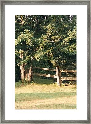 My Quiet Corner - Photograph Framed Print by Jackie Mueller-Jones