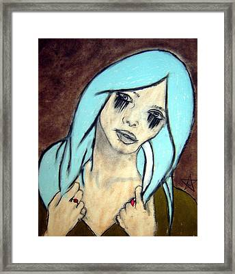 My Rings Have Secrets Too Framed Print by Chrissa Arazny