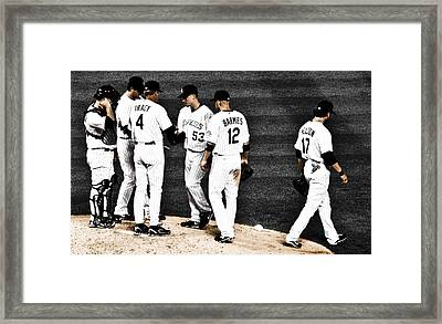My Rock Collection - Colorado Rockies Framed Print by Marilyn Hunt