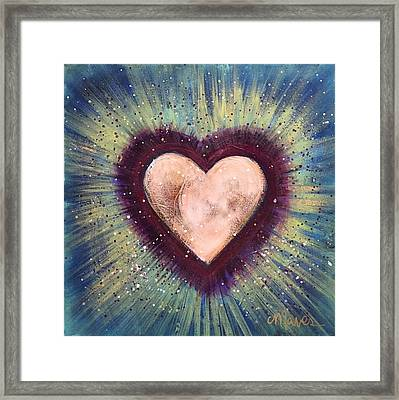 My Royal Heart Framed Print by Laurie Maves ART