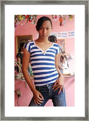 My Salon 4 Framed Print by Jez C Self