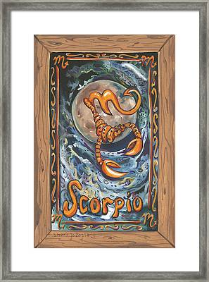 My Scorpio Framed Print