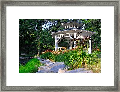 My Secret Garden Framed Print by Robert Pearson