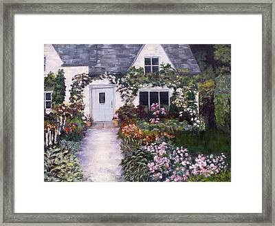 My Secret Place Framed Print by Diane Daigle