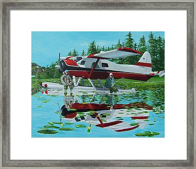 My Secret Spot Framed Print by Gene Ritchhart