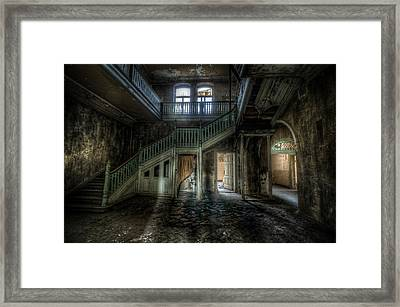 My Shadow In The The Chocolate Factory Framed Print