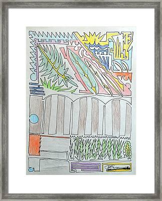 My Side Yard Framed Print