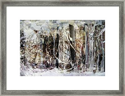 My Signature Or Yours  Framed Print