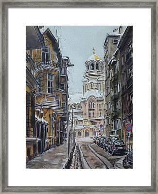 My Sofia Framed Print