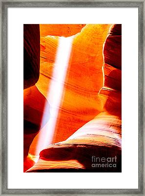 My Solitaire Framed Print by Az Jackson