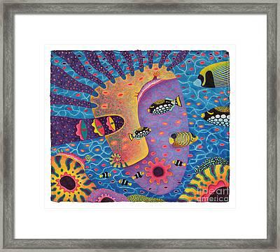 My Son 2 Framed Print by Opas Chotiphantawanon