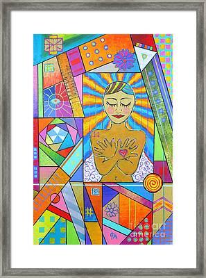My Soul, I Carry Framed Print by Jeremy Aiyadurai