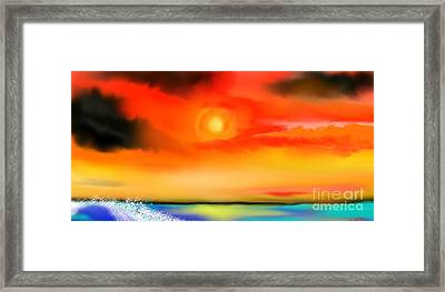 My Soul Framed Print by Lori  Lovetere