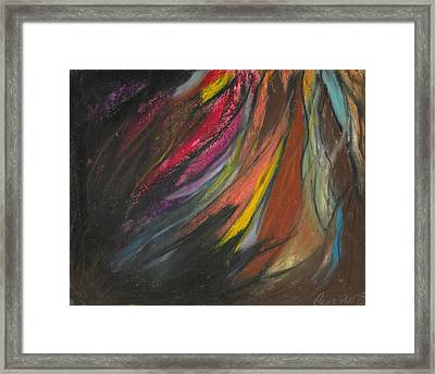 My Soul On Fire Framed Print