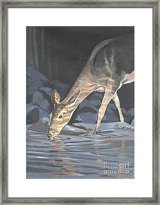 My Soul Pants Framed Print by Callie Smith