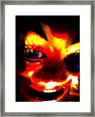...my Soul To Take Framed Print by Nick Young