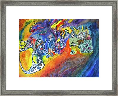My Soul's Been Psychedelized Framed Print