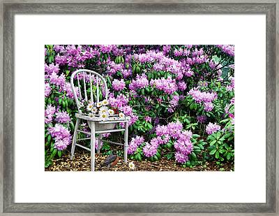 My Space Framed Print by Maria Dryfhout
