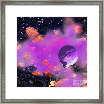 My Space Framed Print