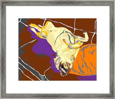 My Space Framed Print by Su Humphrey