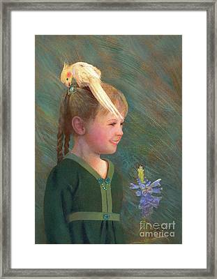 My Sparkly Trinket Framed Print by Nancy Lee Moran