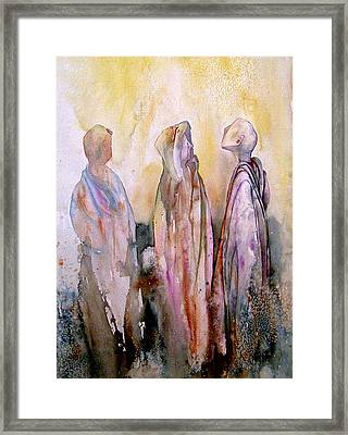 My Spirit Guides Framed Print by Wendy Hill