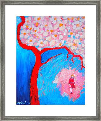 Framed Print featuring the painting My Spring by Ana Maria Edulescu