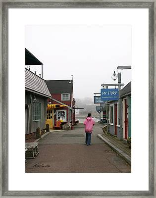 My Story Framed Print by Michelle Wiarda