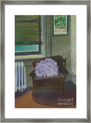 My Student Apartment Framed Print by Suzn Art Memorial