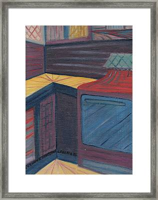 My Studio Framed Print by Suzanne  Marie Leclair