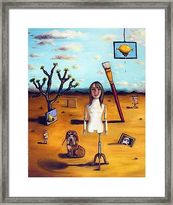 My Surreal Life Framed Print by Leah Saulnier The Painting Maniac
