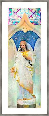 My Sweet Lord Framed Print by Candee Lucas