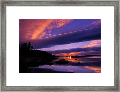 My Tahoe Framed Print