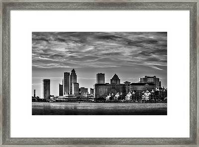 My Tampa Framed Print