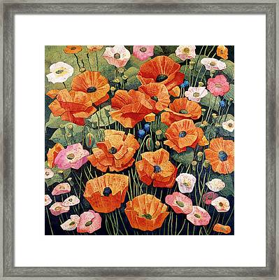 My Taos Wildflowers Framed Print by Donna Clair