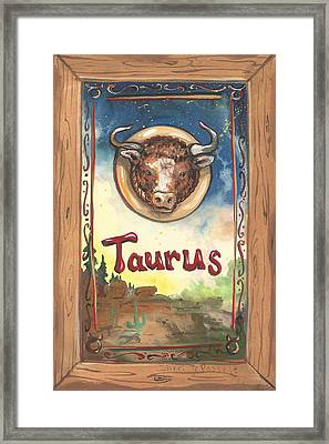 My Taurus Framed Print