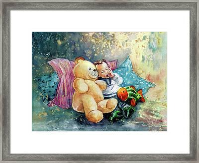 My Teddy And Me 05 Framed Print