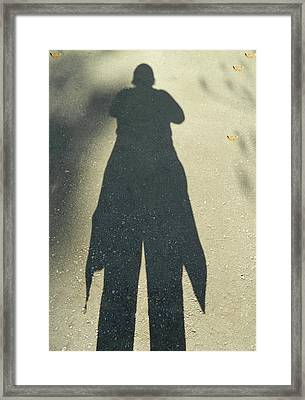 My Ten Foot Shadow 2 Framed Print by Emmy Marie Vickers