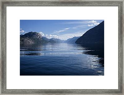 My Thoughts Keep Coming Back To You Framed Print