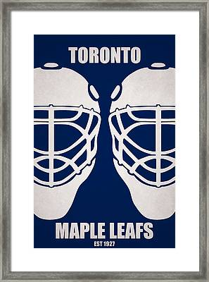 My Toronto Maple Leafs Framed Print by Joe Hamilton
