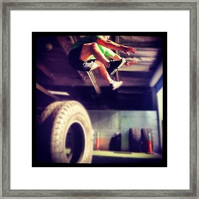 My Trainer @jackson1234321 Framed Print