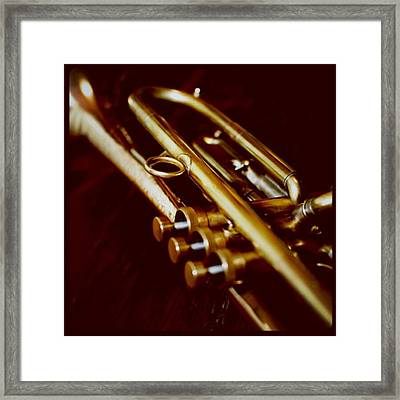 My Trumpet Framed Print