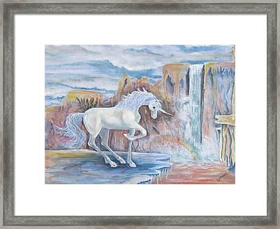 My Unicorn Framed Print