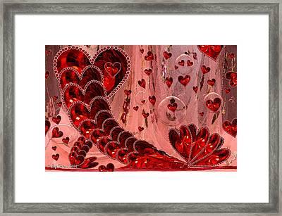 My Valentine Framed Print by Joy Gerow