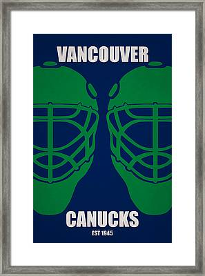 My Vancouver Canucks Framed Print by Joe Hamilton