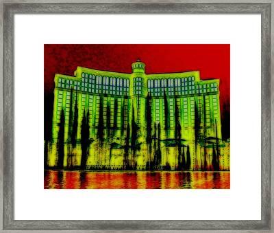 My Vegas Bellagio 5 Framed Print by Randall Weidner