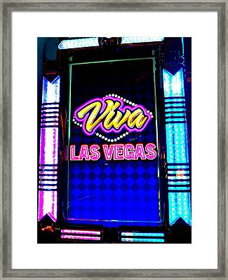 My Vegas Elvis 5 Framed Print by Randall Weidner