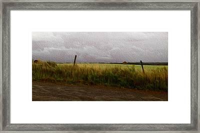 My View Framed Print