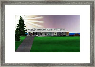 My Vision My Home Framed Print