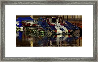 'my Way' Early Morning Colours Framed Print